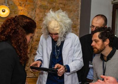 Integrate actors in Einstein Unsolved