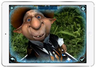 Magic Portal Augmented Reality Goblin