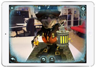 Magic Portal Augmented Reality Goblin 2