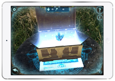 Magic Portal Augmented Reality Chest