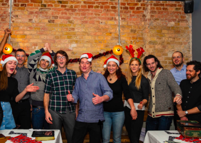 A Christmas party with Cluetivity games