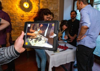 AR Escape Game Einstein Unsolved augmented reality feature on iPad