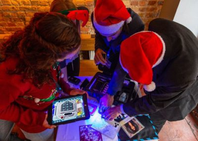 Mobile Escape Games can be a fun christmas event for teams