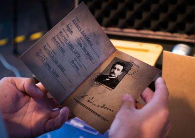 ID of Albert Einstein for The Last Secret